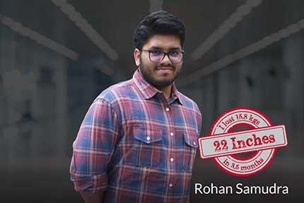 Rohan Samudra Fat Loss – 22 inches / 15.8 kilos